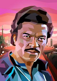 Lando Calrissian by Liam Brazier
