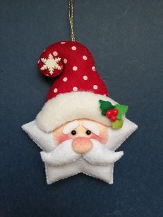 Christmas Clay, Christmas Crafts, Christmas Decorations, Xmas, Christmas Ornaments, Holiday Decor, Felt Ornaments, Felt Crafts, Cactus