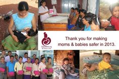 Thank You Donors: We Couldn't DO This Without You! - CleanBirth - Saving Mothers and Babies in Laos Baby Shower Hostess Gifts, Baby Shower Favors, Mother And Baby, Mom And Baby, Without You, Baby Safe, Laos, Birth, Baby Shower Favours