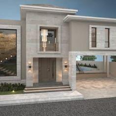 fachada principal poniente casas de estilo moderno por nova