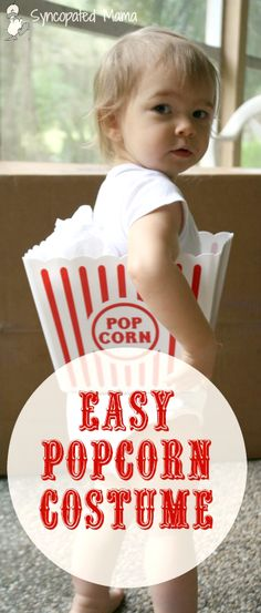 Syncopated Mama: Easy Popcorn Costume