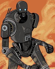 K-2SO - Star Wars: Rogue One - Mark Streeter