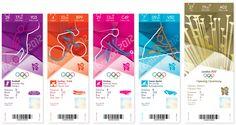 Hace ya bastantes meses que hablábamos en otro post sobre el logotipo de los Juegos Olímpicos de Londres 2012. En aquel tiempo aún quedaban bastantes meses para el inicio de los juegos, sin embargo el paso del tiempo es inexorable y casi sin darnos cuenta los juegos ya están aquí.    Hoy os enseñamos los diseños de las entradas que se van a utlizar durante los juegos. Estos han corrido a cargo de Futureband, una empresa derivada de McCann Worldgroup.