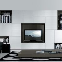 ... The Minimalist WITJES Wall Storage System. See More. Tv And Storage |  TV Unit Storage White   Jesse   Fci Contemporary U0026 Modern Furniture