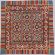 Items in Bloomin Stitches Needlework store on eBay! Palestinian Embroidery, Needlepoint Canvases, Plastic Canvas, Hand Embroidery, Bohemian Rug, Needlework, Cross Stitch, Carpet, Hand Painted