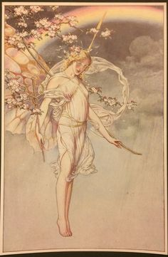 From a 1908 edition of Shakespeare's The Tempest, beautifully illustrated by Paul Woodroffe