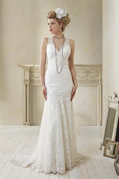 Alfred Angelo #lace wedding gown