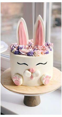 Little Girl Birthday Cakes, Candy Birthday Cakes, Beautiful Birthday Cakes, Birthday Cakes For Women, First Birthday Cakes, Designer Birthday Cakes, Chocolate Birthday Cake Kids, Cake For Baby Girl, Easy Kids Birthday Cakes