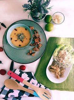 Supa crema de pastarnac si piure de fasole cu muraturi de casa #raw #vegan