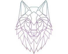 """Search result for """"Wolf Geometric Drawing"""" - diy tattoo images Wolf Tattoos, Line Art Tattoos, Animal Tattoos, Tattoo Drawings, Celtic Tattoos, Tattoo Art, Diy Tattoo, Color Tattoo, Geometric Wolf Tattoo"""