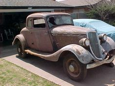 1934 FORD 5 WINDOW RUMBLE SEAT COUPE