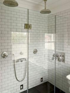 Leivars - bathrooms - walk-in shower, walk-in shower enclosure, seamless glass shower surround, frameless glass shower surround