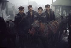Durham miners, 1965 © John Bulmer