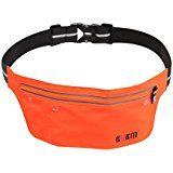 On Black Friday Cybermonday sale BUBM Running Fanny Pack Portable Multifunctional Waterproof Reflective Fitness Fuel Belt Exercise Runners Belt...