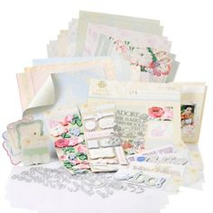 Anna Griffin® Cecile Wedding Papercraft Kit at HSN.com.