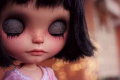Dave Nomad Vainilladolly Custom Blythe OOAK doll | eBay
