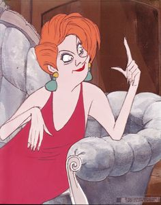 """Madame Medusa from """"The Rescuers"""" . Disney animator Milt Kahl's finest work ? Some people consider this scene to be the best work in animation ever . Disney Pixar, Disney Villains, Disney Movies, Disney Characters, Madame Medusa, Disney Cards, Walt Disney Animation Studios, Disney Springs, Animation Film"""