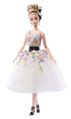 2016 Classic Cocktail Dress New Poseable Silkstone Barbie Doll IN Hand! #Mattel #Dolls