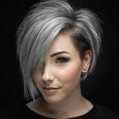 Short Hairstyle 2018 – 67 #thinninghair