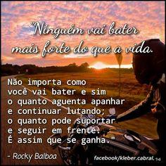 #bomdia #goodmorning #rockybalboa #avidaensina #frases #pensamentos #boratrabalhar #borabatalhar #saopaulo #liçõesdevida