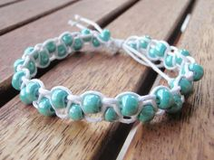 DIY bead bracelets DIY Jewelry DIY Bracelet...not in English, but can figure out from pics.