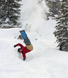 2cb825cff18  slamday - When  snowboard  flips go wrong -  maverix  wintercamp  offpiste   kicker  mayrhofen