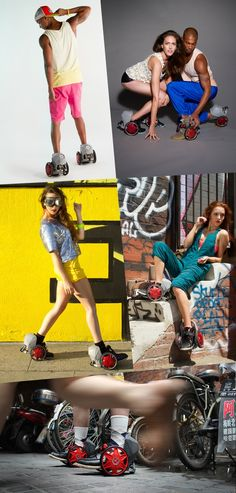 The ACTON Rocketskates™ are Wearable Mobility. Remote-free, Strap-in, Smart electric skates.