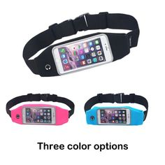 Waist Pack, Smarco Adjustable and Touchscreen Running Belt for iPod, Keys, Cash and Credit Cards Running Belt, Bank Card, Purse Styles, Iphone6, Waist Pack, Womens Purses, Credit Cards, Wallets For Women, Cool Watches