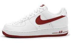 Nike Air Force 1 White/Gym Red