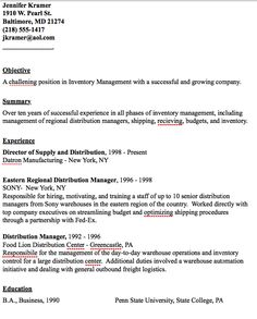 example of distribution manager resume httpresumesdesigncomexample - Distribution Manager Sample Resume