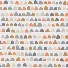 Papier Peint De Style Scandinave Priya Avec Ses Demi Lunes Irrégulière Dans  Les Coloris Gris