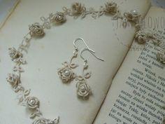 Tatting Tutorial, Tatting Lace, Chrochet, Beading, Necklaces, Flowers, Blog, Inspiration, Beautiful