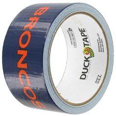 Duck Brand NFL Broncos Duck Tape   Shop Hobby Lobby