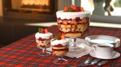 Traditional Red Berry Holiday Trifle Recipe