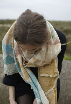 gorgeous scarf #style