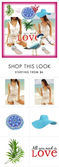 """""""Rose gal  34"""" by fatimazbanic ❤ liked on Polyvore featuring beauty and Brewster Home Fashions"""