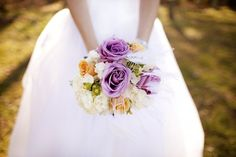one of the prettiest bouquets i've ever seen