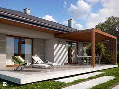 Aranżacje wnętrz - Domy: NV-PR-004981 - Novio.pl Projekty domów. Przeglądaj, dodawaj i zapisuj najlepsze zdjęcia, pomysły i inspiracje designerskie. W bazie mamy już prawie milion fotografii!