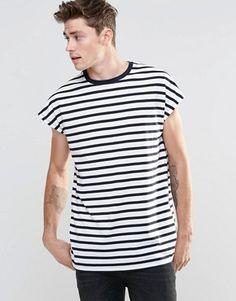 986e5f56cd23 Sailor stripes in black and white Nautical Stripes