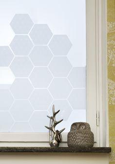 Hexagon Window Tiles | SiluettFrost
