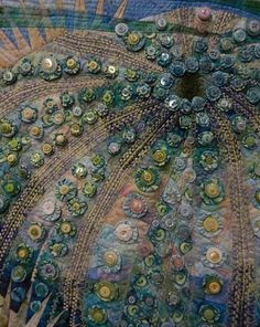 sea urchin quilt