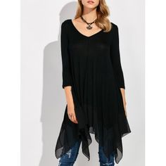 SHARE & Get it FREE | Asymmetrical Handkerchief T-ShirtFor Fashion Lovers only:80,000+ Items·FREE SHIPPING Join Dresslily: Get YOUR $50 NOW!