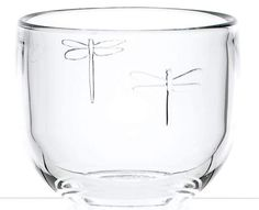 """Dragonfly votive cup (2.5"""") LR6082-01. Price: $6.99 ea. To order call 905·885·9250. (Prices subject to change without notice)"""