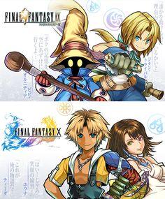 Final Fantasy 合作日期&大量角色插圖公佈! - Puzzle & Dragons 戰友系統及資訊網