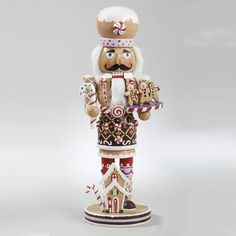 16 Gingerbread Kisses Chef with Cookies Decorative Wooden Christmas Nutcracker - Listing price: $69.99 Now: $54.99