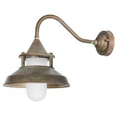 Tuscanor - Exterior Brass Wall Light - TUS128