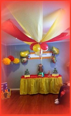 """Photo 6 of 24: Curious George / Birthday """"Curious Cenk's 2nd Birthday!!"""" 