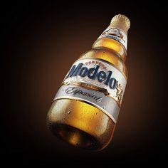Estilo3D - Cerveza Modelo #packaging #design — World Packaging Design Society│Home of Packaging Design│Branding│Brand Design│CPG Design│FMCG Design