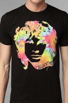 Jim Morrison Tie-Dye Tee #urbanoutfitters