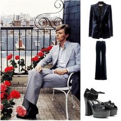 We love boards inspired by fashionable men - especially this excellent one with one of our favorites. Happy birthday David Bowie GABBY MCKEAN, you David Bowie, Happy Birthday, Boards, Mens Fashion, Inspired, Shopping, Style, Happy Brithday, Planks